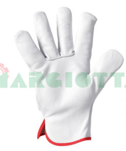 guanti in pelle fiore di bovino