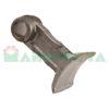 Mazza per trincia , diametro foro 20,5 larghezza attacco superiore 45 larghezza taglio lama 55 raggio 118