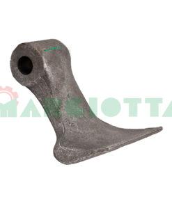 Mazza per trincia , diametro foro 14,5 larghezza attacco superiore 40 larghezza taglio lama 85 raggio 95