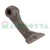 Mazza per trincia , diametro foro 25,5 larghezza attacco superiore 50 larghezza taglio lama 88 raggio 175