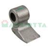 Mazza per trincia , diametro foro 36,5 larghezza attacco superiore 60 larghezza taglio lama 70 raggio 110