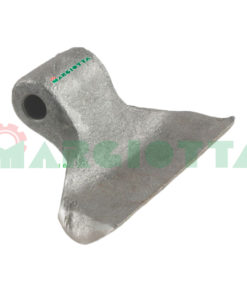 Mazza per trincia , diametro foro 16,5 larghezza attacco superiore 60 larghezza taglio lama 150 raggio 88