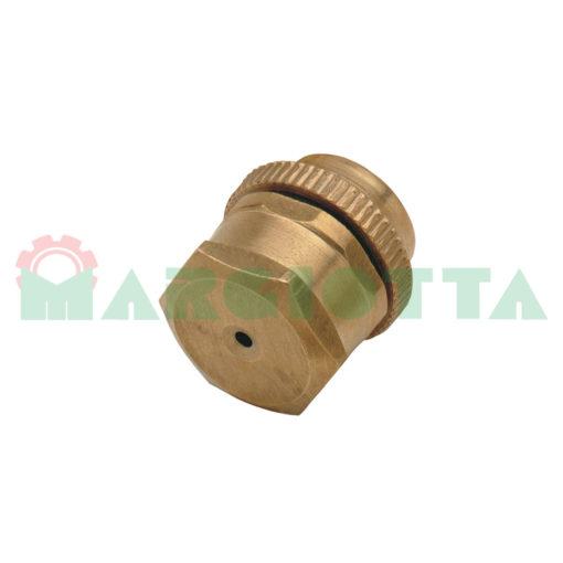 25051 getto cono in ottone foro standard 1,5 mm