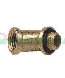 Curva in ottone 45° 25052 per lancia bassa pressione 1/4