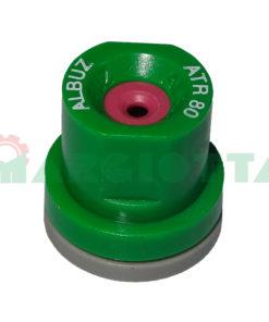 Ugello a cono vuoto 80° 20 bar Albuz ATR verde