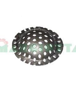 Filtro inox bombato per getto ugello diametro 16 altezza 5 26017