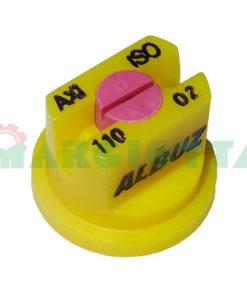 Ugello ISO a ventaglio 110° Albuz AXI giallo