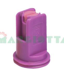 Ugello ad induzione d'aria Asj Iso 110° Arag AFC 025 Viola