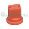 Ugello antideriva ceramico a ventaglio Albuz LDC Iso 110° 01 Arancio
