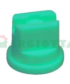 Ugello a ventaglio Lechler ST Iso 110° Albuz 15 Verde chiaro