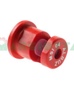 Ugello a ventaglio piatto MSI 160° Albuz 04 Rosso