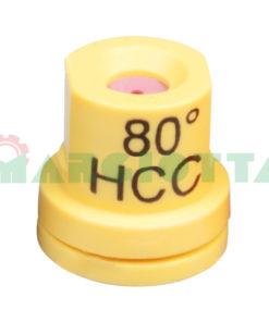 Ugello a cono vuoto 80° Arag HCC Giallo