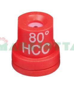 Ugello a cono vuoto 80° Arag HCC Rosso