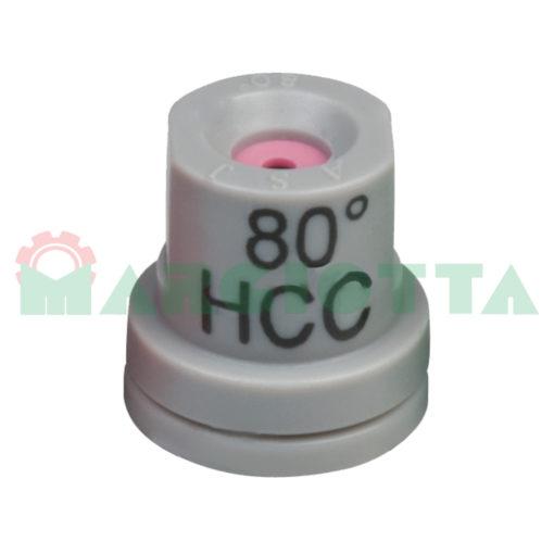 Ugello a cono vuoto 80° Arag HCC Grigio