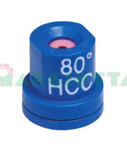 Ugello a cono vuoto 80° Arag HCC Blu