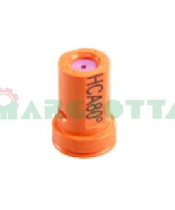 Ugello a cono vuoto 80° Arag HCA Iso 01 Arancio