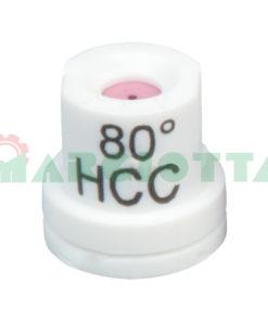 Ugello a cono vuoto 80° Arag HCC Bianco