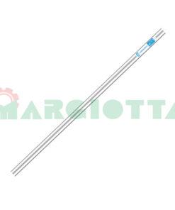 Asta fissa in alluminio Campagnola con variazioni R165.0104 - R165.0101 - R165.1101