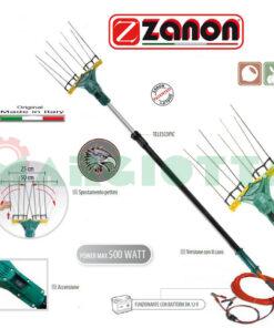 Abbacchiatore elettrico Zanon Falcon AL 200/F - AL 300/F a 12 Volt Telescopico con variazioni