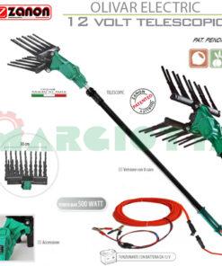 Abbacchiatore elettrico Zanon Olivar Electric AL 200 - AL 300 a 12 Volt Telescopico
